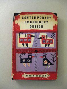 Contemporary Embroidery Design // Joan Nicholson 1954