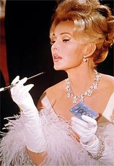 """""""I want a man who is kind and understanding.  Is that too much to ask of a millionaire?""""  ...Zaza Gabor"""
