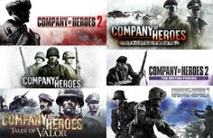 Relic Entertainment is celebrating their anniversary on this occasion they released the Humble Company of Heroes Bundle, allowing PC gamers to access this famous World War 2 RTS series for a bargain price. Company Of Heroes 2, Humble Bundle, 10 Anniversary, Pc Gamer, Entertainment, War, Games, Gaming, Game