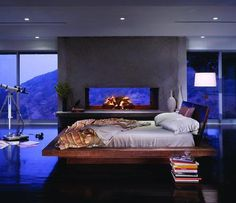 Sky High Modern Bedroom
