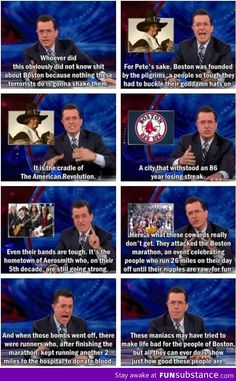 Not a huge fan of Colbert but this is funny and true. If about six months late.. Men Quotes, Movie Quotes, Funny Quotes, Girl Quotes, Trey Songz, Hank Green, John Green, Big Sean, Ryan Gosling
