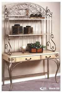 Ordinaire Wrought Iron Bakers Rack