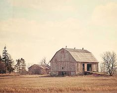 Abandoned Barn Photo  Weathered Rustic Country Old by LyndaNaranjo, $30.00
