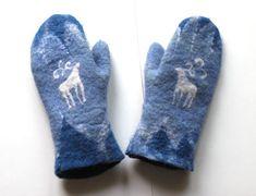 Валяные варежки #mittenS:-)