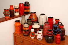 fat lava pottery | Fat-lava-collection - west german pottery | Collections