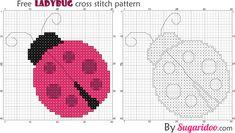Free_ladybug_crossstitch_pattern