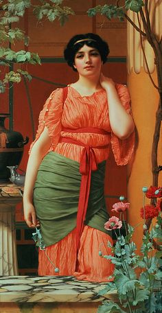 Nerissa By John William Godward