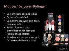 Motives Cosmetics Business Presentation Interested? Message me! Want the make-up? www.motivescosmetics.com/silverfoxsolutions