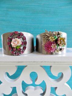 Vintage Bling Cuff Bracelet