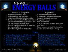 Using Energy Balls