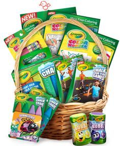 Enter for a chance to win Crayola Springtastic Color Basket Giveaway Sweepstakes--->>>