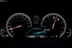 BMW 7 2016 new cluster Comport mode