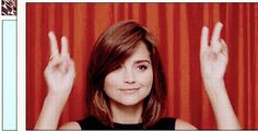 Happy birthday to Jenna Coleman!! She is thee cutest!!