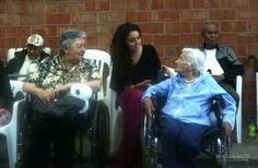Platicando con los abuelitos Responsabilidad Social BRG Casa Hogar San Vicente de Paul