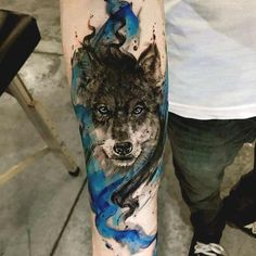 Watercolor tattoo ideas for forearms tattoos