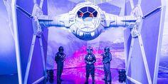 O Tie Fighter X4, uma das naves de combate da saga, é uma das novidades da grande convenção que se realiza em dezembro.