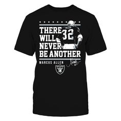 Oakland Raiders - Never Be Another Marcus Allen
