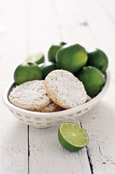Tequila Lime Sugar Cookies