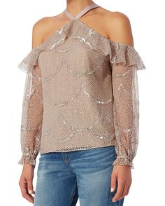 KYLIE LACE COLD SHOULDER TOP #fashion #trend #style #onlineshop #shoptagr