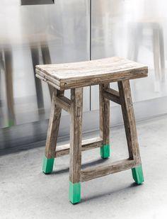 Atm Möbel saddle seat bar stool a more option for the kitchen