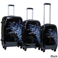Calpak Bangkok 3-piece Expandable Hardside Spinner Luggage Set | Overstock.com