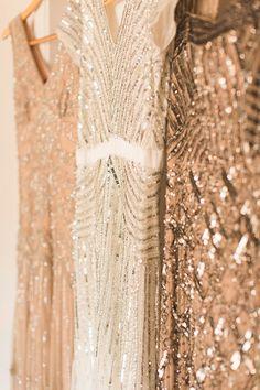 sparkly maids dresses