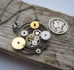 Clockwork Pendant