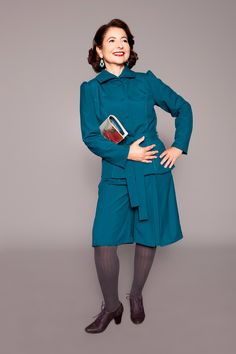1940s jacket and culottes by MARLENES TOECHTER