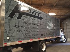 Box truck design and wrap