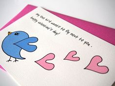 happy valentine's day!!  #valentine #lovebirds #greetingcard