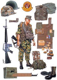 """""""Marine rifleman"""", Ramiro Bujeiro"""