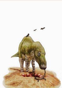 Maiasaura Artwork by Joschua Knüppe