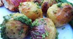 Oven Roasted Pesto Potatoes | Our Everyday Dinners
