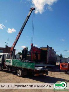 Started shipment of equipment for the company SENECO. #StroyMehanika