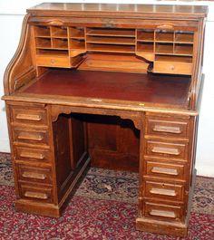 Résultats de recherche d'images pour «rolltop desk» Decor, Furniture, Corner Desk, Roll Top Desk, Home Decor, Desk