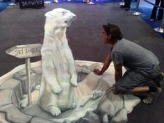 Pavement 3D Street Art | ... ...with an interview with 3D street painters Joe Hill and Max Lowry
