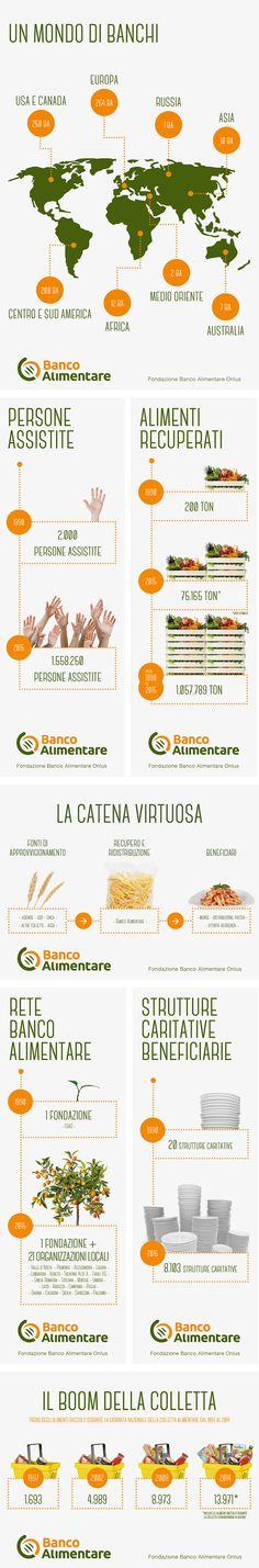 BANCO ALIMENTARE | #ArtDirection #GraphicDesign #Illustrator #Infographic | FOLLOW #MPLMRC81 ON TWITTER https://twitter.com/mplmrc81/ AND LINKEDIN http://it.linkedin.com/in/mplmrc81/