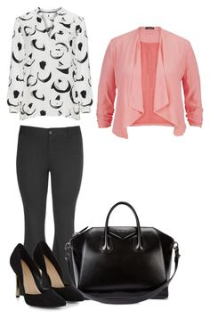 """""""Sin título #339"""" by daaaiu ❤ liked on Polyvore featuring maurices, Open End and Givenchy"""