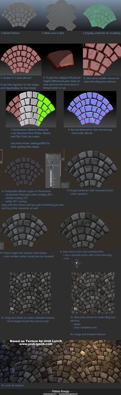 How to cobblestone painting drawing texture resource tool how to tutorial instructions | Create your own roleplaying game material w/ RPG Bard: www.rpgbard.com | Writing inspiration for Dungeons and Dragons DND D&D Pathfinder PFRPG Warhammer 40k Star Wars Shadowrun Call of Cthulhu Lord of the Rings LoTR + d20 fantasy science fiction scifi horror design | Not our art: click artwork for source