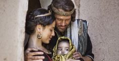 "Solomon is Born of David and Bathsheba. - 2nd Samuel 12:24, ""And David comforted Bathsheba his wife, and went in unto her, and lay with her: and she bare a son, and he called his name Solomon: and the LORD loved him."""