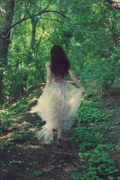 Running away...