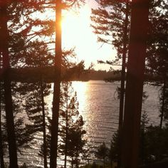Sunset over Echo Lake, Bigfork Montana. I live in walking distance and pass this beautiful Lake in my car daily.