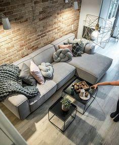 OLHA O SOFÁ: Fácil de DIY confortável