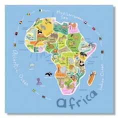 Free printable maps of everything includes line blank and full image result for eyfs iwb africa gumiabroncs Choice Image
