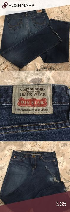 986452e3d2b Big Star Vintage denim men's jeans Size 32 regular Big Star Blue jeans are  at the