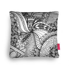 Zen Pillow - available till 20th Nov 2015. Beki Reilly