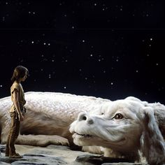 The never ending story movie - i love this movie. This reminds me of my dog :D