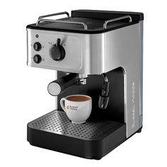 Espressor cu pompa Russell Hobbs Allure --> www.russellhobbs.... #russellhobbs #coffee #cafetiere