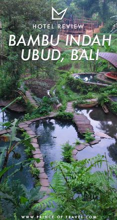 For one of the most unique and magical hotel experiences, look no farther than Bambu Indah Ubud in Bali. Check here for a full review. #ubud #bali