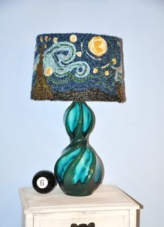 Van Gogh lampshade!